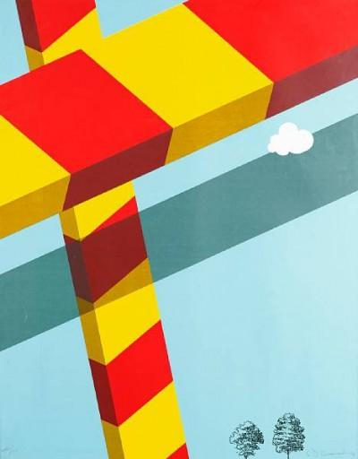 Allan D'Arcangelo art for sale london